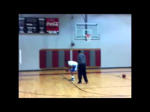 Dante Scott 2015 - High School Basketball Phenom daily training