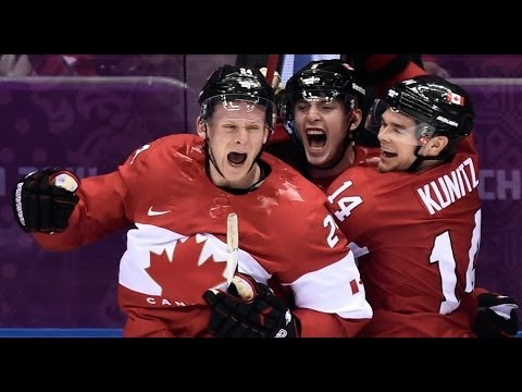 Canada Beats Team Usa In Men's Hockey - Sochi Winter Olympics 2014