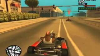 GTA: San Andreas Ps2 99 Cut Throat Business