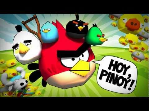 ANGRY BIRDS vs. PINOYS?!?....OMG!!!