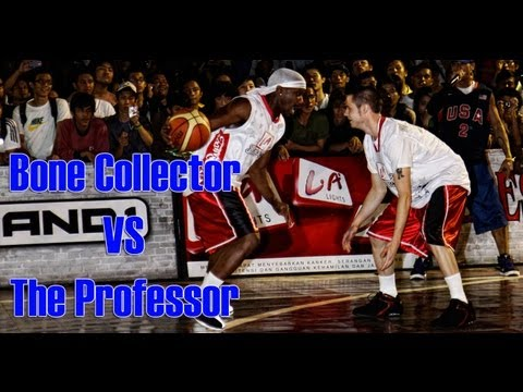 Streetball Battle Mixtape #1 - The Professor Vs The Bone Collector