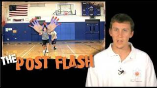 HOW TO POST UP By FLASHING In The Post)-Shot Science