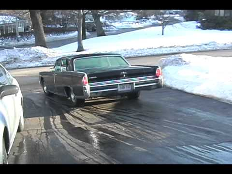 parking my 1965 lincoln continental with glasspacks youtube. Black Bedroom Furniture Sets. Home Design Ideas
