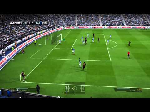 [HD] UEFA Champions League: Manchester City vs. FC Barcelona (18-02-14) | Prediction | Fifa 14 - PS4