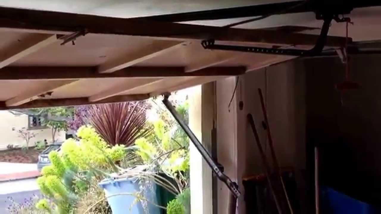 garaje door spring: