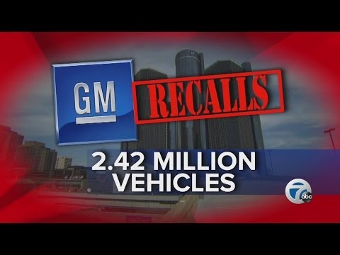 GM recalls 2.42 million vehicles