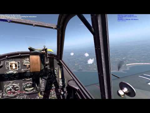 IL-2 Cliffs of Dover - Escorting A Lone Heinkel