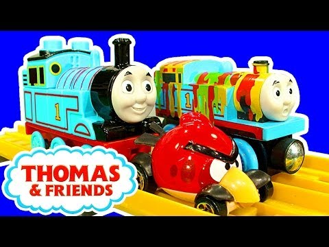 Thomas The Tank Mega Bloks Deluxe Starter Set Buildable Sodor Island Crashing Trains Fun