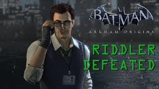 Batman: Arkham Origins (PC) The Riddler Defeated (All