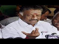 Panneerselvam Shocks Sasikala Over Bank Transactions..