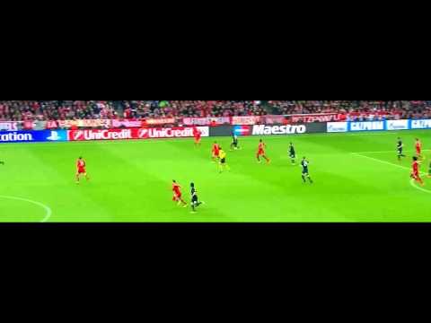 Antonio Valencia vs Bayern München (9/4/2014)