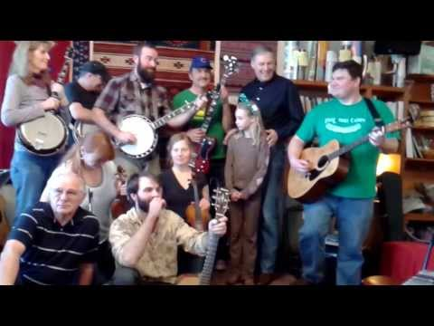 Traditions Cafe Bluegrass Jam with Jay Inslee