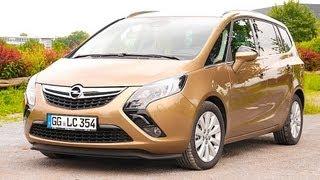 Opel Zafira Tourer Vauxhall Zafira Tourer - test review Fahrbericht - Autogefühl Autoblog