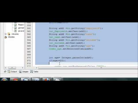 Java prog#59.How insert image into mysql/SqLite database and retrieve PART-3