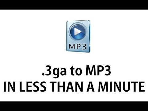 online 3ga to mp3 converter