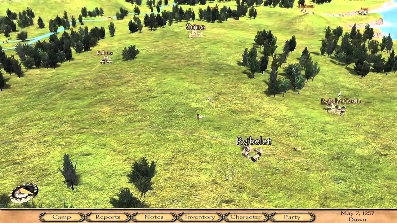 forest bandit hideout mount and blade