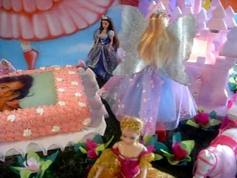 mesa da barbie