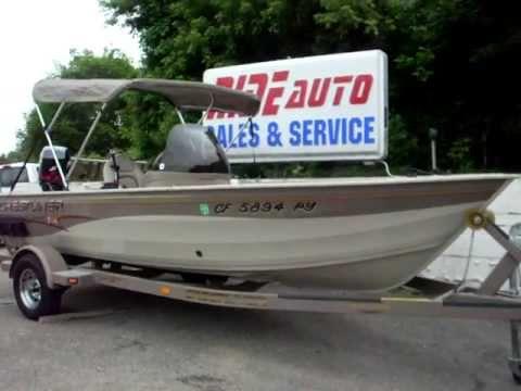 2003 crestliner 16 foot fishing boat mercury 4 stroke efi for 16 ft fishing boat