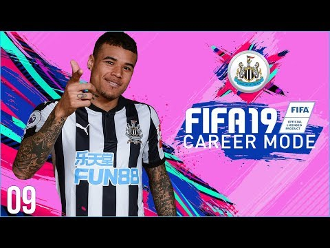 FIFA 19 Newcastle Career Mode Ep9 - CONTROVERSY AT THE DEATH!!