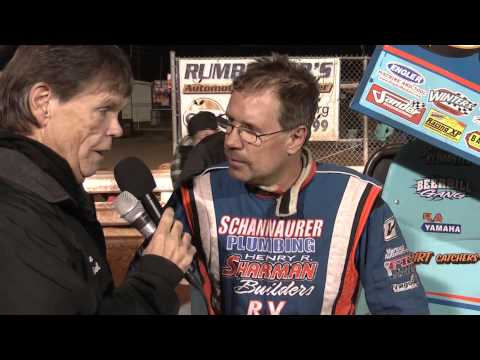 Williams Grove Speedway 410 Sprint Car Victory Lane 10-26-13