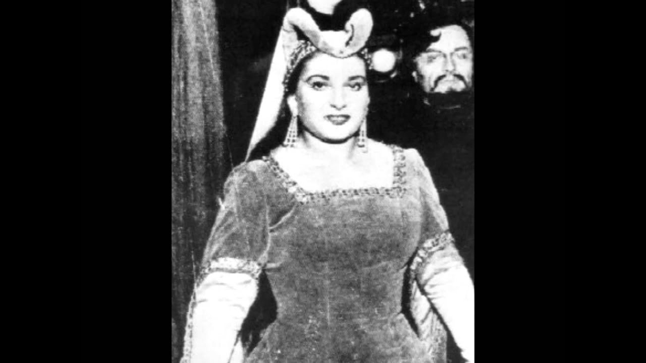 Maria Callas Before Weight Loss