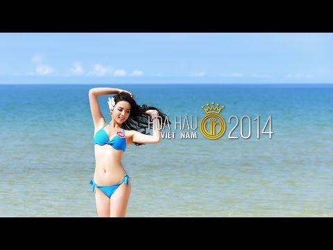 Nonstop   Việt Mix 2015    Hoa hậu Việt Nam áo tắm bikini 2014 Full HD