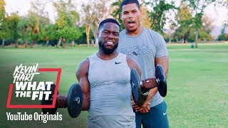 Bulk up With the Boss | Kevin Hart: What The Fit | Laugh Out Loud Network