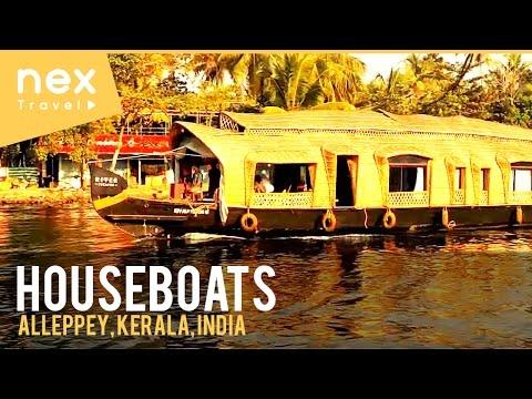 Alappuzha (Alleppey) Houseboats - Kerala Tourism - India