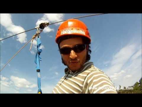 Tirolesa Guia Vertical - Espaço Torres