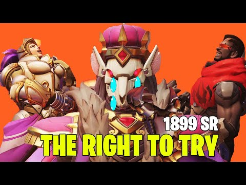Overwatch - The Right To Try #3 Support - 1899 SR