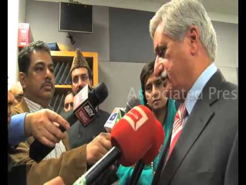 AJK President Sardar Yaqoob Khan Talking To Media Person After  attending OIC ministerial In NewYork