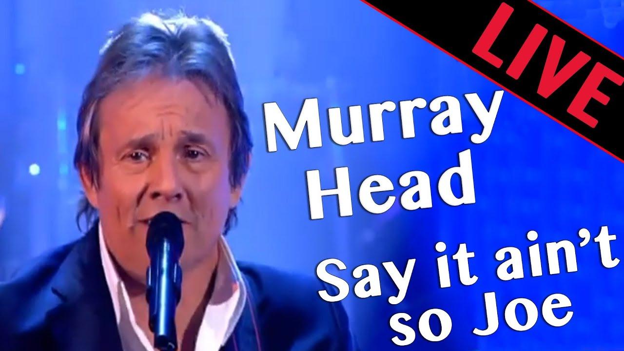Say It Aint So Joe >> Murray Head - SAY IT AINT SO JOE - Les Années Bonheur - Patrick Sébastien - YouTube
