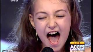 "Elena Hasna a interpretat LIVE melodia lui Celine Dion - ""I surrender"" la Acces Direct"