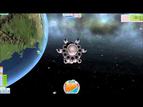 Kerbal Space Program With Jonathan Parking Orbit to Dock or not