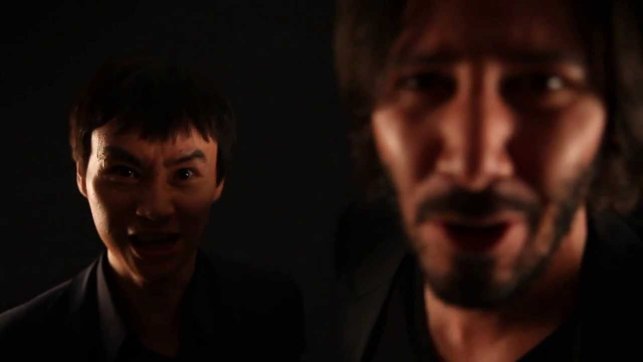 MAN OF TAI CHI Fantastic Debates Pre-Fight Video from Keanu Reeves & Tiger Chen