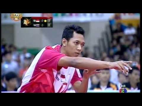Sepak takraw ISTAF Super Series 2011 Men's team Final - Thailand vs Indonesia (Part 1)