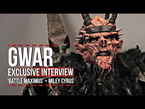 GWAR's Oderus Urungus on 'Battle Maximus,' Miley Cyrus + More [Naughty Language]