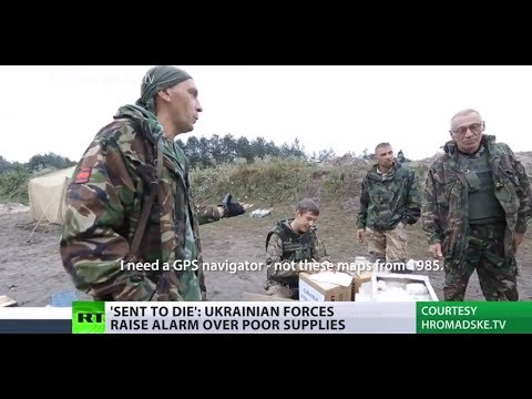 'Sent to Die': Kiev's forces in E.Ukraine raise alarm over poor ammo, rotten food
