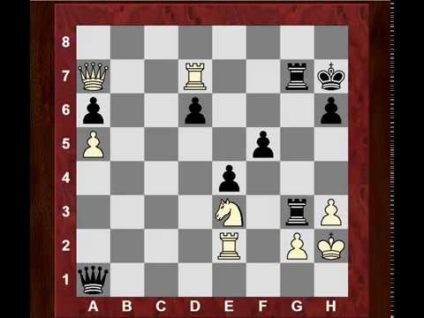 Can you spot why White resigned?! IM Hawkins continues dominating British Chess Ch. 2014!