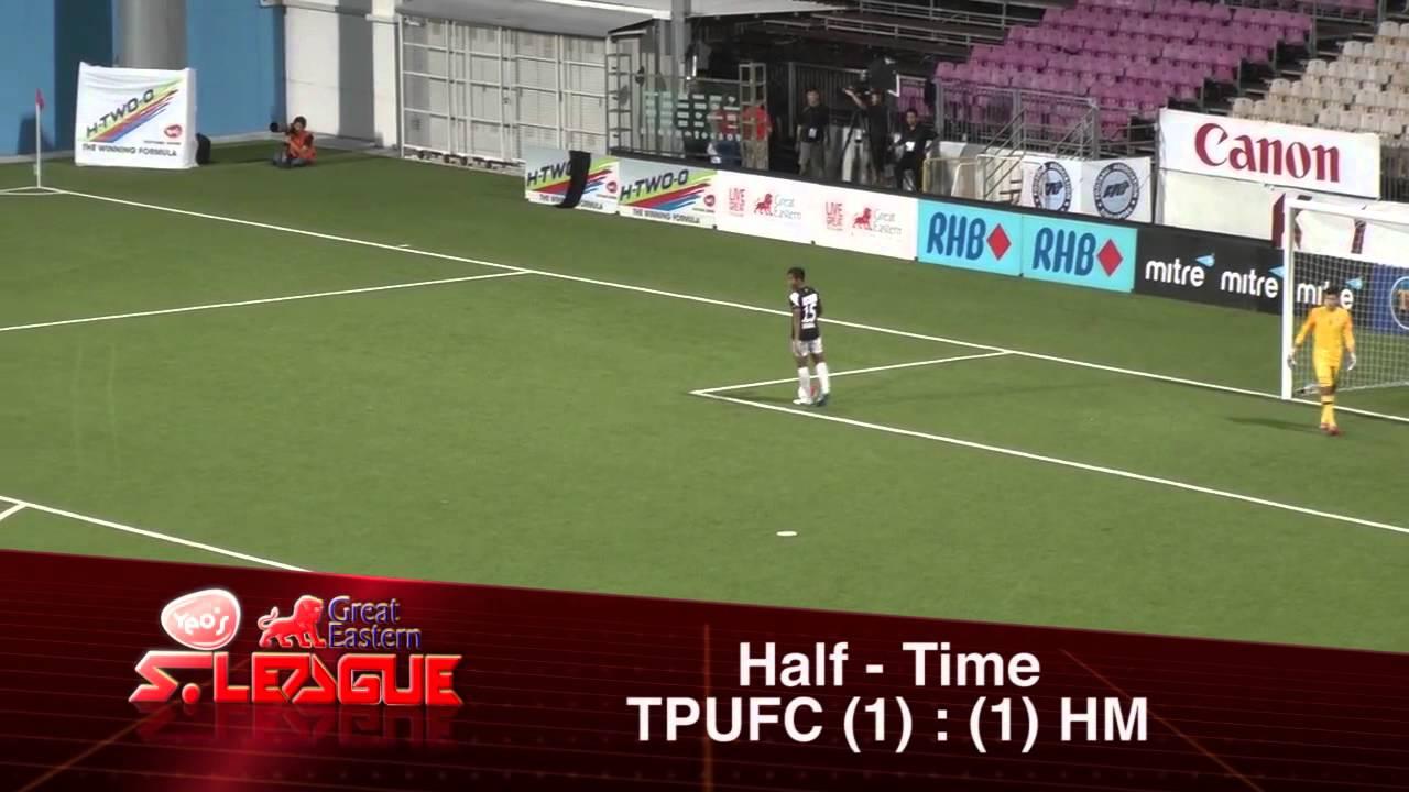 Tanjong Pagar Utd 1-2 Harimau Muda B
