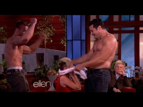Miley Cyrus Sexy Bachelorette Party on Ellen!