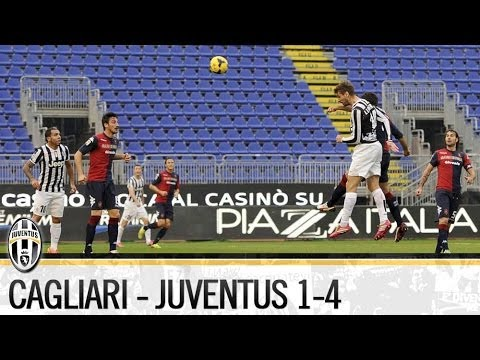 Cagliari-Juventus 1-4  12/01/2014   The Highlights