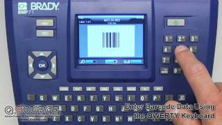Labels are Easy with Brady BMP41 Portable Labeler - YouTube