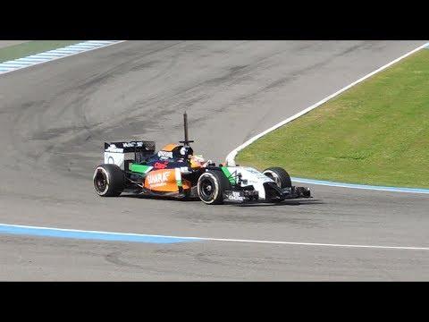 F1 2014 Sahara Force India VJM07 Sergio perez (Circuito de Jerez)