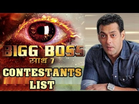 Bigg Boss 7 CONTESTANTS LIST OUT - EXCLUSIVE