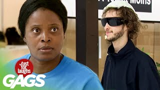 Skrytá kamera - Slepý muž