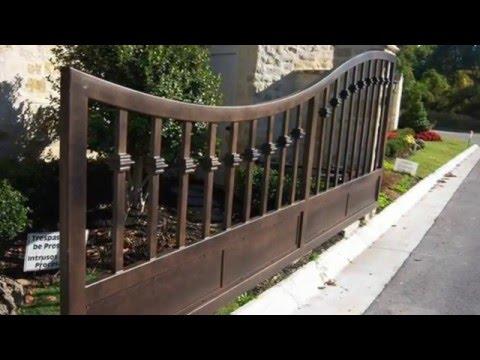 Wrought Iron Fence Boise