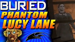 "Buried Zombies: Flying Phantom Zombie ""Lucy Lane"" - Calico Ghost Town Easter Egg"