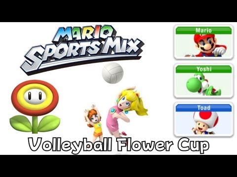 Mario Sport Mix - Volleyball - Flower Cup