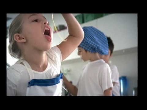 Mitsides Commercial with childrens pasta song